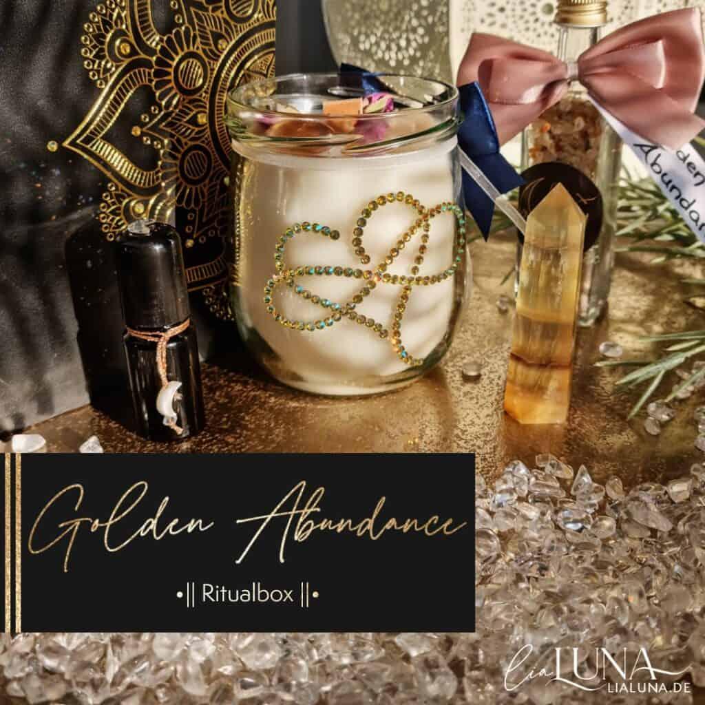 Golden Abundance Ritualbox by lialuna